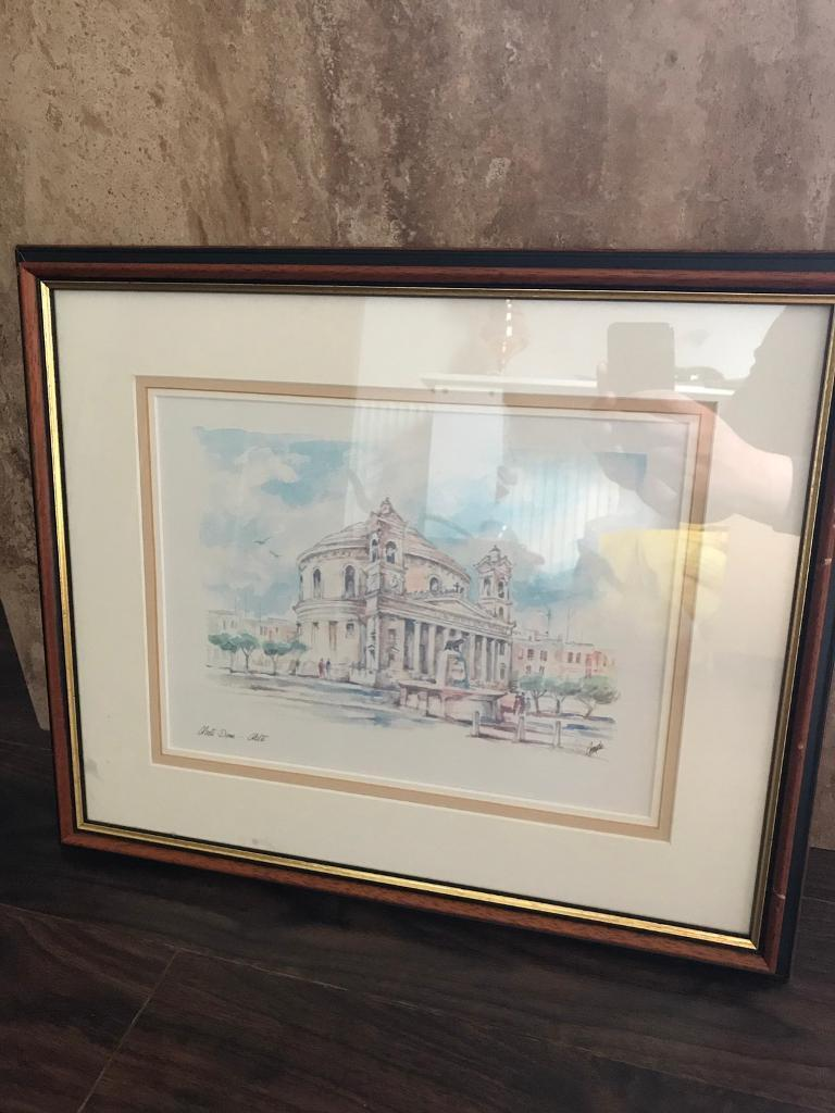 Beautiful vintage antique painting in wooden frame | in Paisley ...