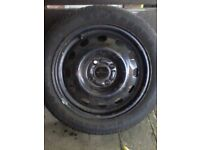 Ford Escort Firestone Tyre and Wheel. 195/50 R 15 New Tyre