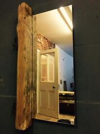 Reclaimed English Oak fence posts Mirror