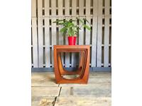 Nest of tables teak vintage retro Sunelm , like G Plan Astro