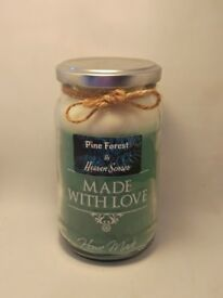 Large Pine scented candle 16 oz by Heaven Senses