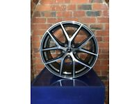 "18"" 19"" & ""20"" Staggered Alloy Wheels For Mercedes C Class & E Class - Brand New Boxed"