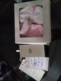 Baby girl Armani socks x2 bnib
