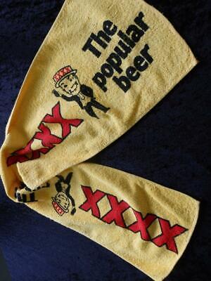 VINTAGE 1980s XXXX BEER Bar Towel RUNNER 109cm MAT VGC NO Stains FREE POST