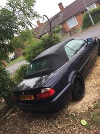 BMW 325i e46 convertible (11 months mot)sell or swap why!!