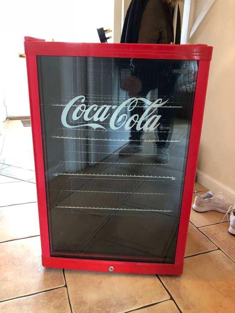 Husky Coca Cola Under Counter Mini Fridge In Stockton