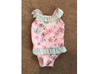 Primark 6-9 Months Baby Girl Swimsuit