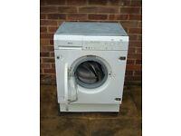 **SMEG Integrated Washer Dryer - White**