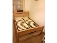 MUST GO !!! benson for beds wood frame double bed