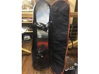 Burton Snowboard and Carry Case