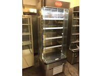 Interlevin display dairy chiller, commercial fridge for foods,drinks and veg, 70 cm