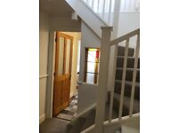Sea Rd: Character Maisonette 1 bed part furnished, allocated parking, near sea, shops, & restaurants