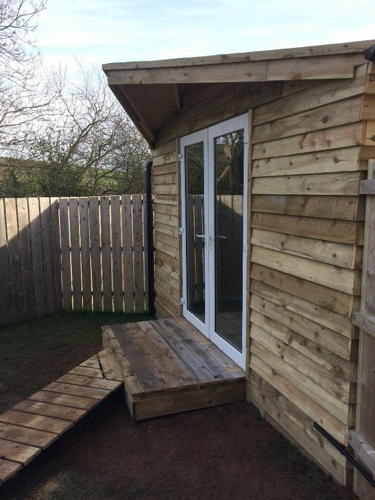 Shed , garden room , summer house , home office ' business space