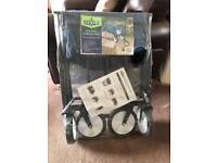 Folding garden trolley brand new