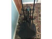 Cross trainer/excersie bike