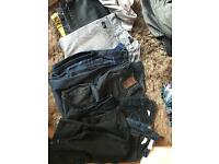 Bundle of clothes, all good condition - shirts up to M-L / Jeans 32R PICKUP ONLY