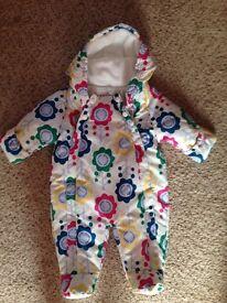 Baby Girl Pram Suit 0-3 Months