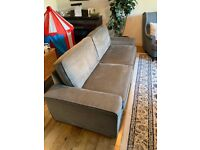 Ikea KIVIK 3 seater sofa dark grey