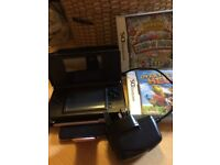 DS Lite + Case + Charger + 2 Games