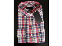 Men's check pattern casual Shirt - brand Five Four