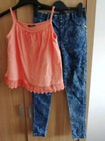 Girl's outfit age 8-9 years