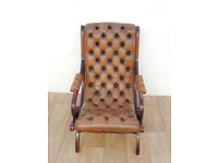 Chesterfield leather seat (Delivery)
