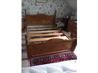 Pine Kings Size Bed