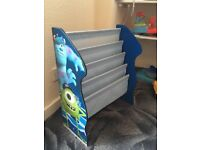 Monsters inc book stand