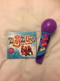 Zingzillas CD and Microphone