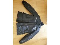 Frank Thomas motorcycle jacket FTW320 and trousers size L