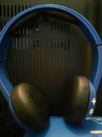 Skullcandy Uproar Wireless Headphones Blue