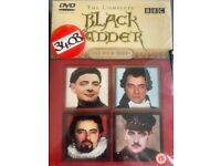 THE BLACK ADDER COMPLETE FOUR SERIES