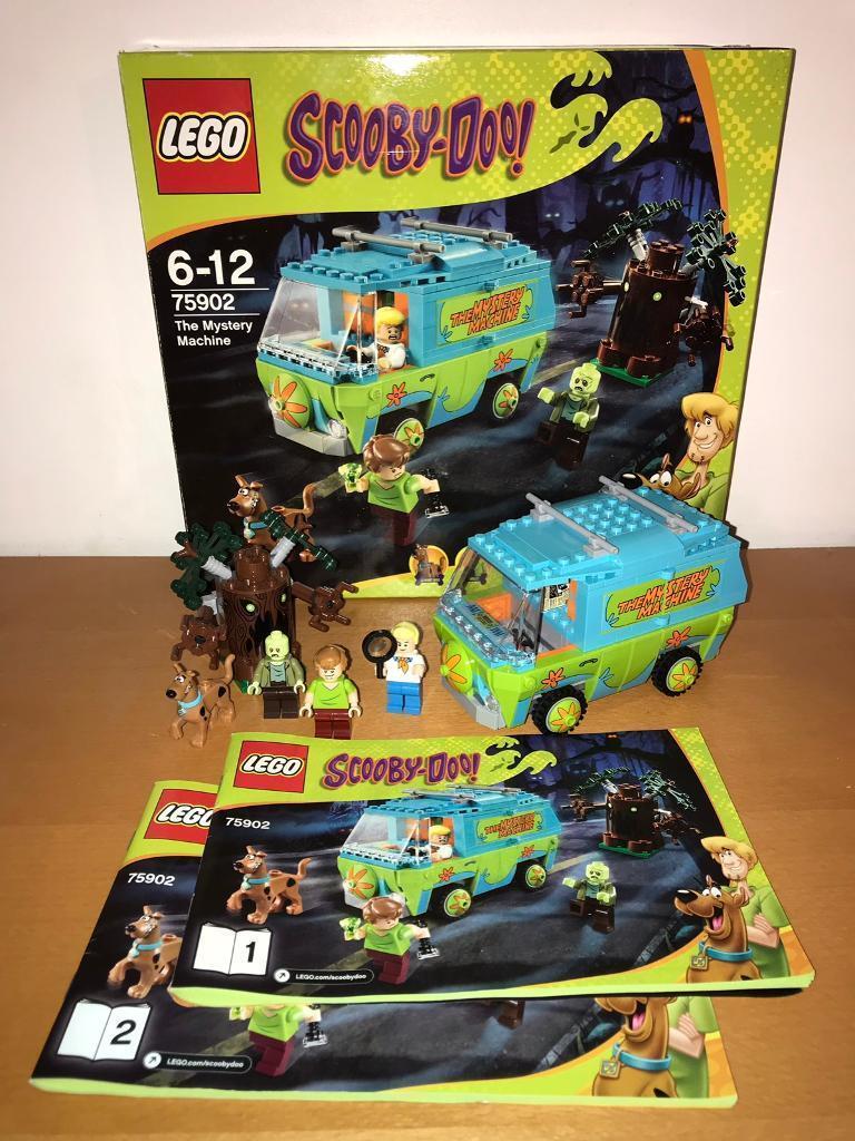 Scooby 75902 Gumtree Mystery FarsleyWest 100CompleteIn Lego Doo Machine Yorkshire oredCxBW
