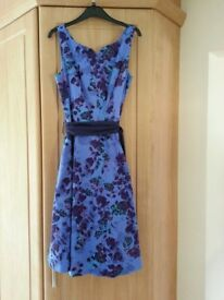 Size 12 New blue lined summer dress from Per Una never worn