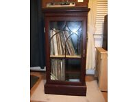 Free - Stereo Record Cabinet- Collection only