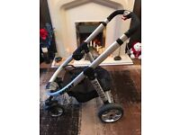 Pram Travel System amazing condition includes birth carry cot and bag need to see