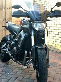 Yamaha MT09 Motorcycle