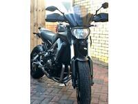 Yamaha MT09 Motorcycle