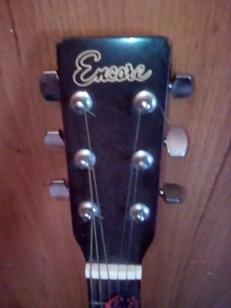 Encore semi acoustic Guitar