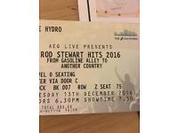 Rod Stewart Hits 2016 2 Tickets Glasgow Hydro VIP package Great seats!