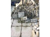 Rockery bricks or hardcore