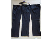 SCHOOL TROUSERS BLACK Age 13/14 3 pairs £1 each. Clean smoke free household Other clothes available