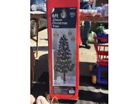 6ft deluxe Christmas tree - black BRAND NEW
