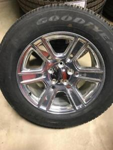TRAX 0738 ) DODGE RAM 1500  LONGHORN WHEELS AND TIRE P ACKAGE $ 1600