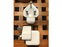 2 Apple iPad/iPod chargers