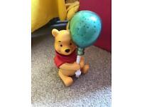 Winnie the Pooh singing light up night light