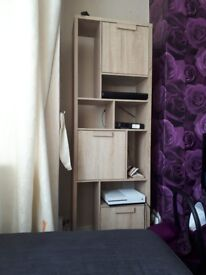 Wooden unit stand
