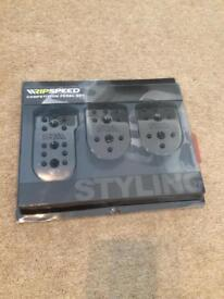 Ripspeed universal competition pedal set