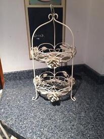Cake Stand or Fruit Bowl Shabby Chic