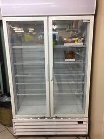 Scan cool display fridges. 1 metre